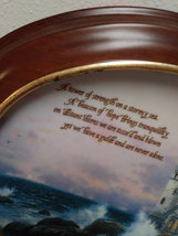 Beacon of Hope by Thomas Kinkade Wall Plaque Plate Number 1096 C  Plate image 2