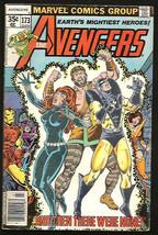 AVENGERS #173  Fine- Marvel Comics 1978 YellowJacketIronManBlackWidowWas... - $6.93