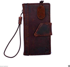 Genuine Real Leather Case Fit for Apple Iphone 5 Book Cover Wallet Id Ho... - $76.08