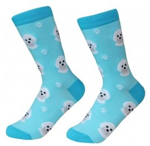 Bichon Frise Socks Unisex Dog Cotton/Poly One size fits most - $11.99