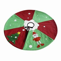 Festive Christmas Ornaments Christmas Santa Tree Skirt 35'' - $24.60
