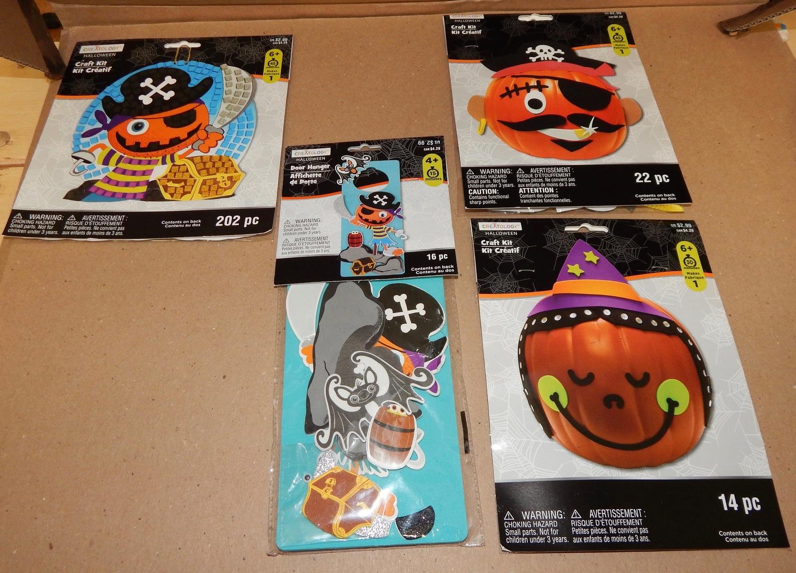 Halloween Craft Kits 3 Each Kids Door Hanger And 24 Similar ...