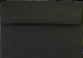 Marco's Announcement Envelopes, Size A-2, Black