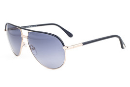 Tom Ford Cole Black Gold / Gray Sunglasses TF285 01B