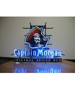 "New Captain Morgan Neon Sign real glass tube 17""X14 - $95.00"