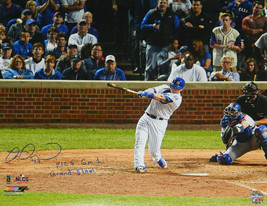 MIGUEL MONTERO Signed Cubs '16 NLCS 16x20 Photo w/NLCS Gm 1 Grand Slam -... - $98.01