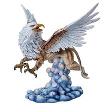 Legendary Heraldic Creature Griffin Figurine With Eagle Head Wings and T... - £60.76 GBP