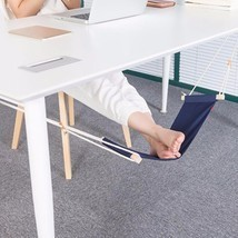 Portable Office Foot Stand Adjustable Travel Sling Home Desk Feet Hammoc... - £15.83 GBP