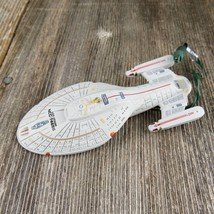 Vintage Star Trek USS Voyager Christmas Ornament Hallmark Magic Light 1996 - $71.99