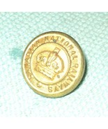 Vintage CANADIAN NATIONAL RAILWAYS BRASS BUTTON with Crown - $13.29