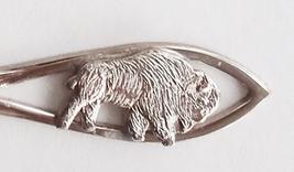 Collector Souvenir Spoon Canada Manitoba Winnipeg Buffalo Bison Embossed... - $4.99