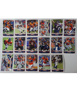 2013 Topps Denver Broncos Team Set of 17 Football Cards - $7.76