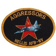 USAF Aggressors  Nillis Airforce Base Navada Patch - $9.89