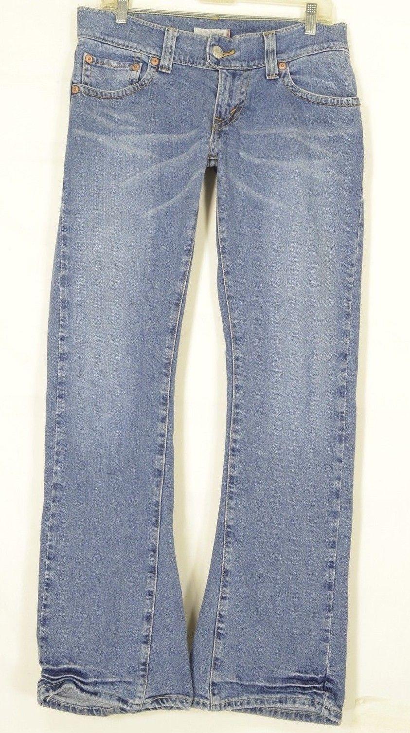 Levi 504 jeans 20 x 32 slouch flap pockets wrinkled leg bottom med wash W42 L32