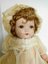"""Vintage Ideal 18"""" Composition & Cloth Wigged Baby Doll w/Original Clothes - $145.00"""