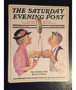 VTG Norman Rockwell Art Print Saturday Evening Post Government Run Every... - $29.69