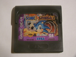 SEGA GAME GEAR - SONIC SPINBALL (Game Only) - $10.00