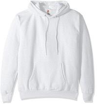 Hanes Men's Pullover Ecosmart Fleece Hooded Sweatshirt ash Large - $19.61
