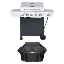 Tailgating Cooking Equipment Propane Gas Grill Side Burner Black Cabine... - $218.50