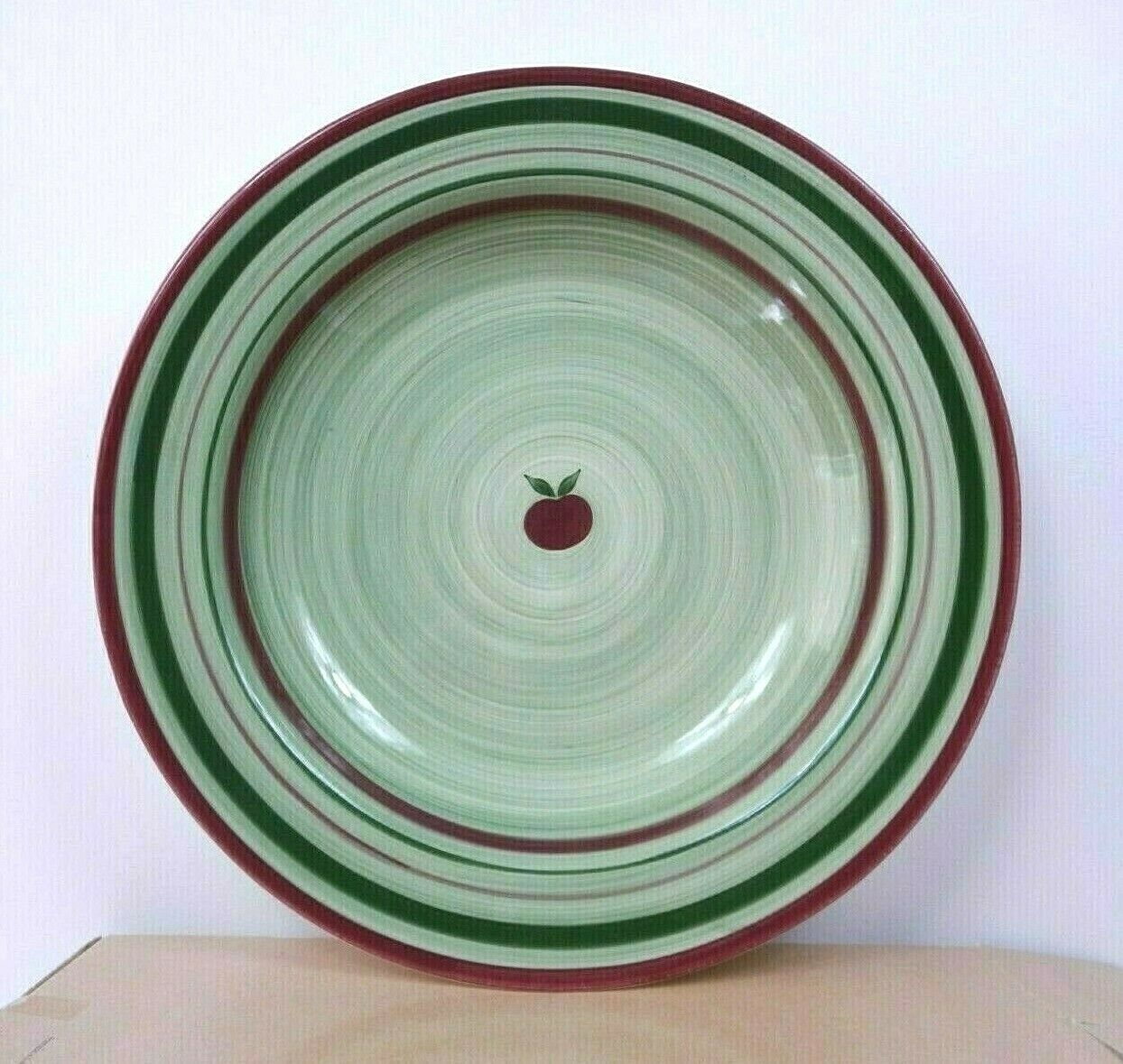 """Franciscan ApplePie Earthenware Bowl Large 16"""" Salad MADE IN USA w Box  - $29.40"""