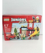 Lego Juniors Fire Emergency Station 10671 Building Set Fighters Mini Fig... - $69.29