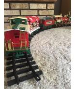 Christmas Special Train 22 Pieces Locomotive Engine Car Caboose New Brig... - $58.79