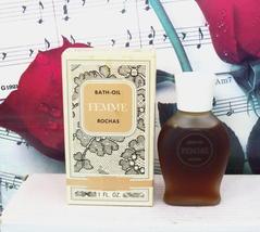 Femme De Rochas Bath Oil 1.0 FL. OZ. Vintage. - $349.99
