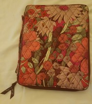"Vera Bradley Hanging RETIRED Tablet Organzier in Bohemian Blooms 11.5""x9... - $19.39"