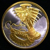 The Egyptian World Of Dragons 24K Gold + collectors capsule 1 ounce OZ - $78.54