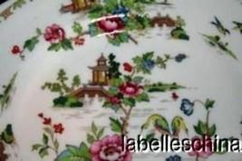"Crown Staffordshire Pagoda 6.25"" Bread / Side Plate Finest English Bone ... - $29.65"