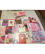 lot of 50 valentine cards Tender Thoughts Greetings - $4.95