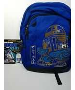 STAR WARS: R2D2 BACK PACK AND R2D2: HOW TO SPEAK DROID BOOK - FREE SHIPPING - $50.00