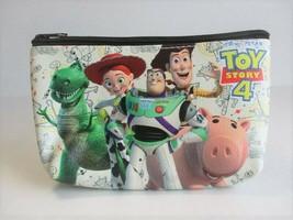 Disney Pixar TOY STORY 4 Buzz, Woody, Jessie, Hamm & Rex Zippered Cosmet... - $11.40