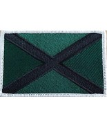 The Saint Andrew's Cross Scotland Flag Embroidered Patch with Hook & Loo... - $12.84