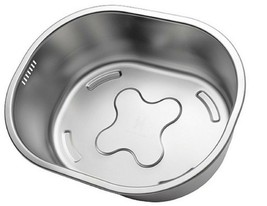 Incroma Stainless Steel Dishpan Basin Dish Washing Bowl Bucket Basket Tub image 1