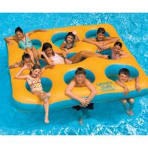 Swimline Labyrinth Inflatable Pool Island - Yellow/Aqua  - $145.51