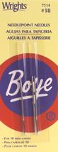 Boye Needlepoint Hand Needles-Size 18 2/Pkg - $4.99