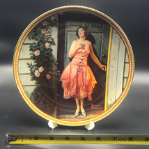 Vtg Knowles Rockwell's Rediscovered Women Standing in the Doorway Plate ... - $22.99