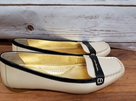 Sperry Top Sider Penny Loafer Women's Size 9.5 M Cream Pearl Leather Sli... - $41.65