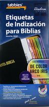 Etiquetas de Indización Para Biblias NEW De Color Arco Iris 90 Incluye C... - $9.70