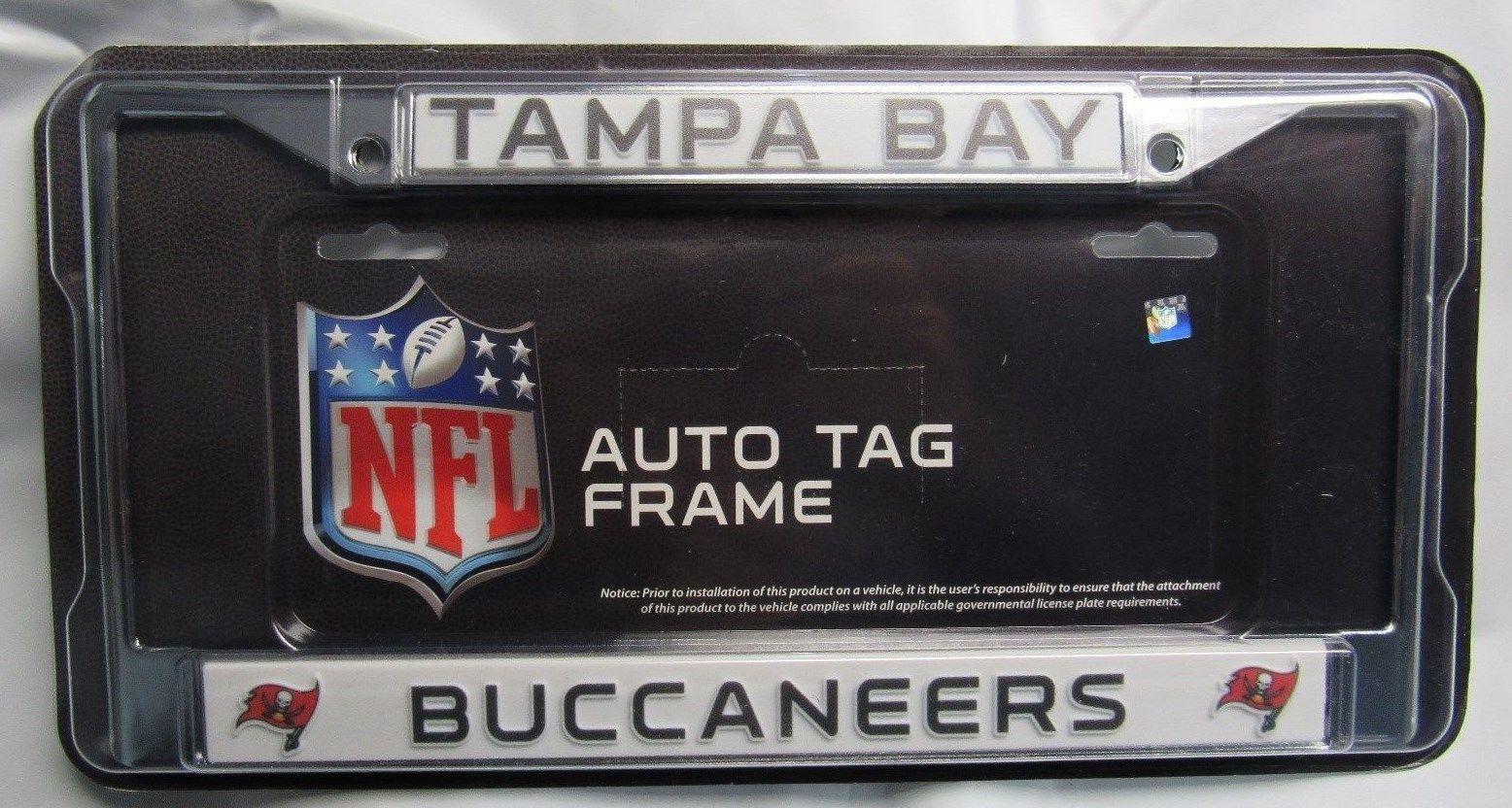 Rico Industries Broncos Black Chrome Frame