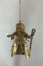 Danbury Mint - Gold Christmas Ornament - - $9.90