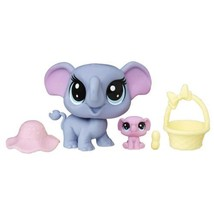 Littlest Pet Shop Indigo Trunkley & Pinkaboo  - $19.89