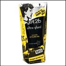 Schwarzkopf Got2b Ultra Glued Invincible Styling Hair Gel Strong Hold Tube 6oz - $10.88