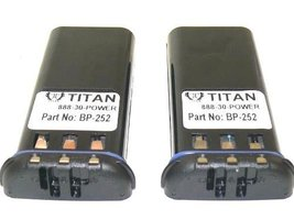 2 Batteries for Replacement ICOM BP252 Lithium-Ion Battery for M3 Marine... - $77.62