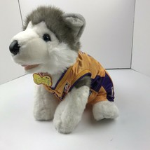 Build A Bear Timber Wolf In A Los Angeles Lakers Uniform Outfit Plush - $24.75