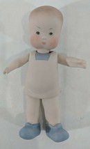 "LM VINTAGE Artist Doll MJM 6"" All Ceramic Fully Jointed Boy Baby Doll Do... - $13.99"