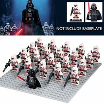 Vader leader clonetrooper stormtroopers soldiers military army building blocks children thumb200