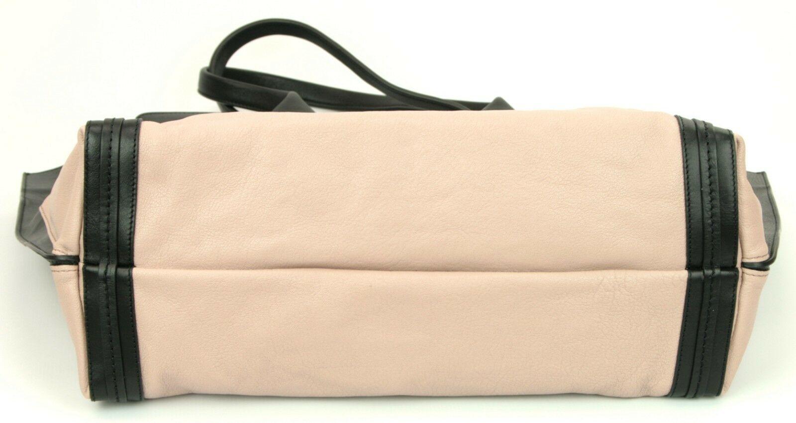 Chloe Alison Tote Bag Leather Tea Petal and Black Medium Handbag RRP £880  image 9