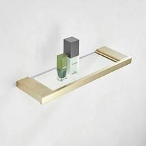 "Bathroom Vanity Shelf, 13.8"" Tempered Glass Kitchen Bathroom Storage Org... - $39.16"